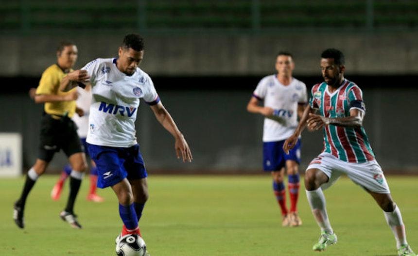 Confira a história dos jogos entre Bahia e Flu de Feira