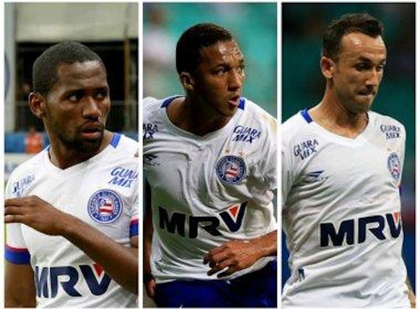 Tinga, Danilo e Thiago são alguns dos estreantes | Fotos: Felipe Oliveira / ECB