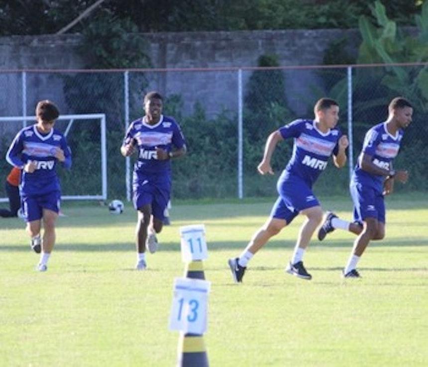 Jogadores participam de treino no Fazendão (Foto: EC Bahia / Divulgação)
