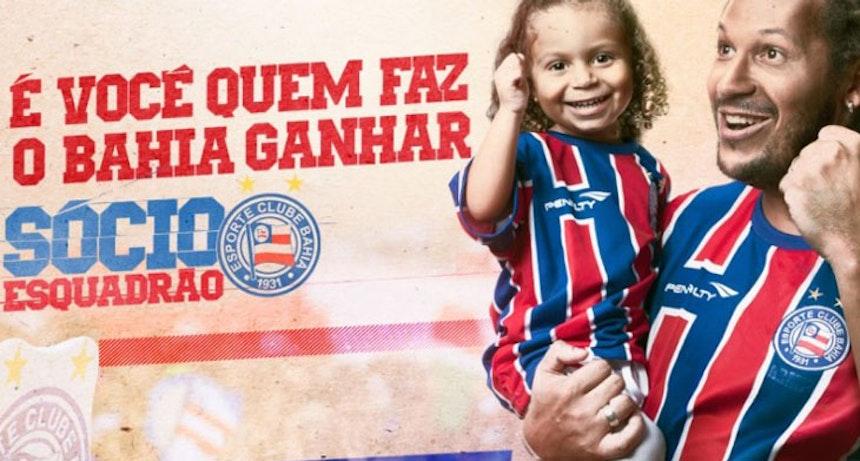 Banner Sócio Torcedor Bahia