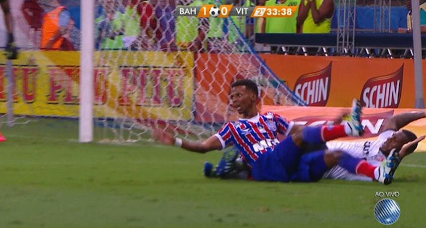 Depois de sofrer pênalti não marcado no Ba-Vi da final do Baiano, atacante é um dos cotados para substituir Edigar Junio contra o América-MG, pela Copa do Brasil