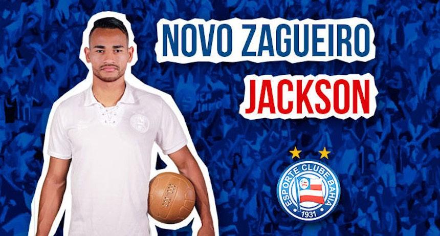 Bahia anuncia contratação do zagueiro Jackson por quatro anos