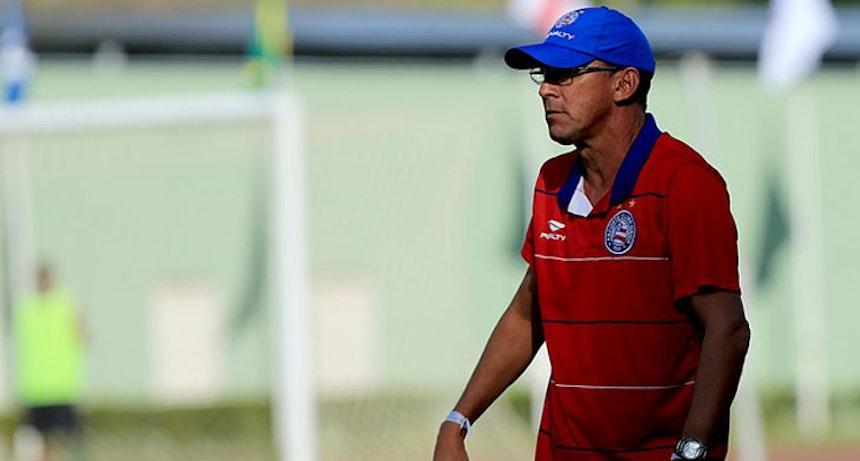 Aroldo Moreira Técnico do Sub-20 do Bahia (Foto: Felipe Oliveira)
