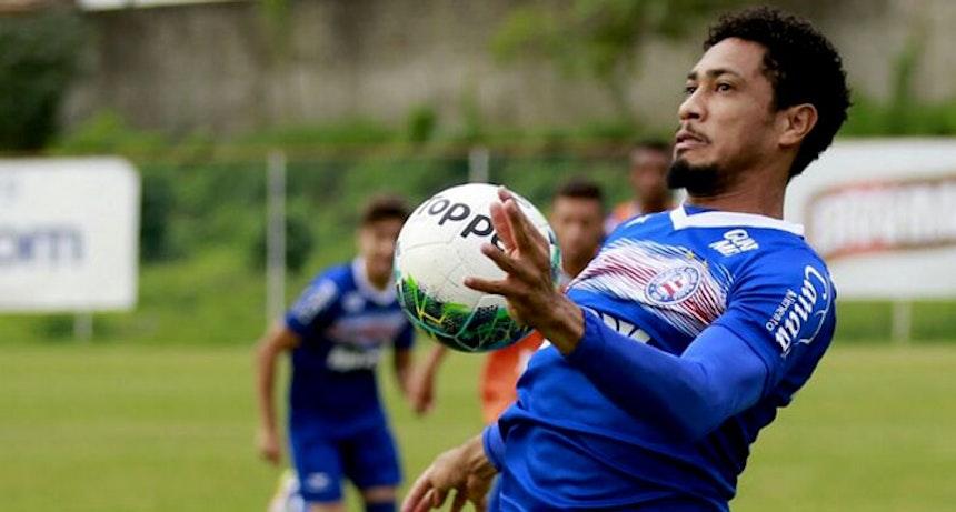 Hernane espera jogo complicado diante do Ceará (Foto: Felipe Oliveira / Divulgação / EC Bahia)