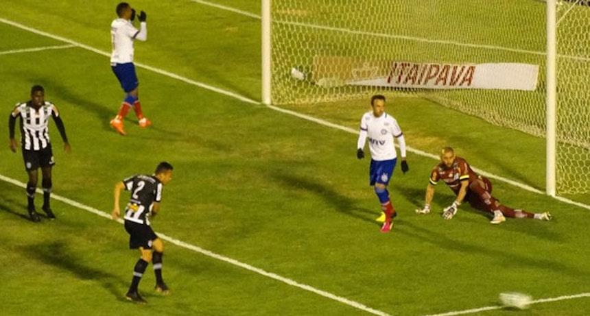 Bahia é derrotado por 2 a 1 pelo Tupi-MG em Juiz de Fora (Foto: Bruno Ribeiro)