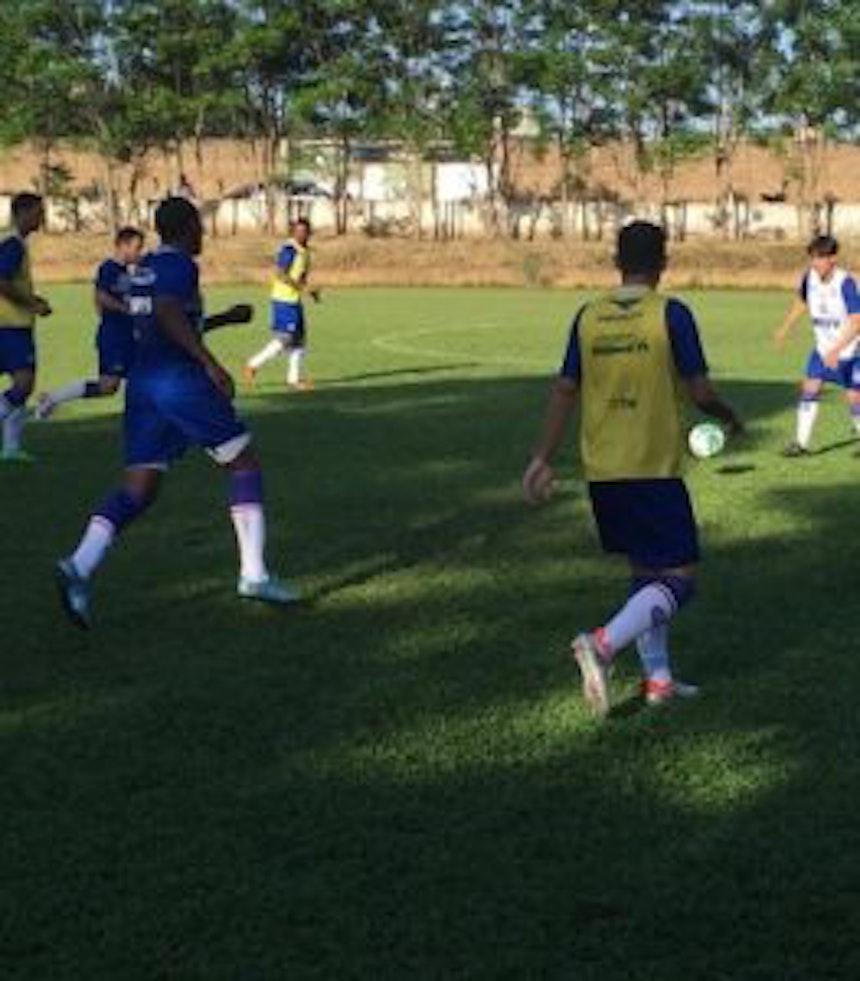 Bahia encerrou preparação para enfrentar o Sampaio Corrêa (Foto: EC Bahia/Divulgação)