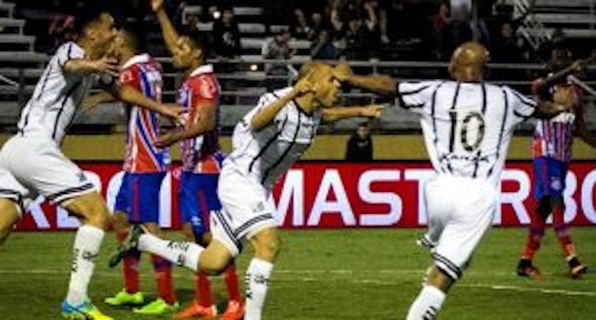 Bragantino vence o Bahia em casa