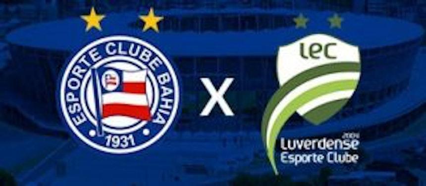 Bahia leva vantagem em confrontos contra Luverdense