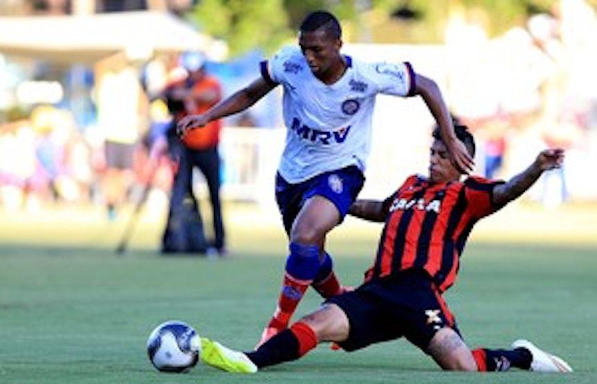 Danilo Pires deve chegar ao Recife nesta segunda (Foto: Felipe Oliveira / Divulgação / EC Bahia)