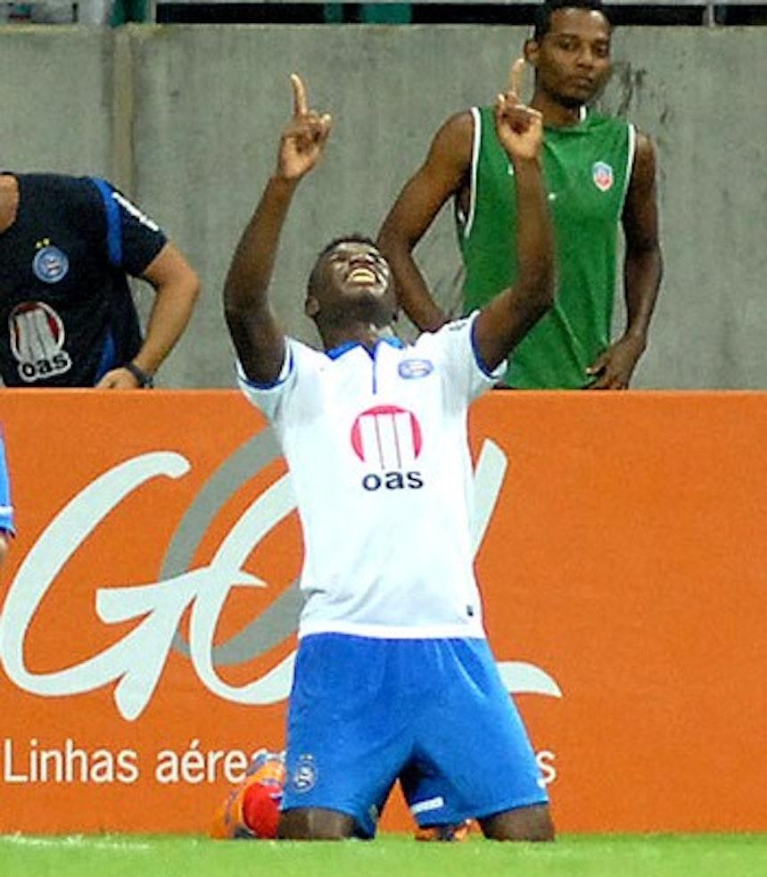 Em 2013, Feijão marcou o gol mil do Bahia em campeonatos brasileiros (Foto: Romildo de Jesus / Agência Estado)