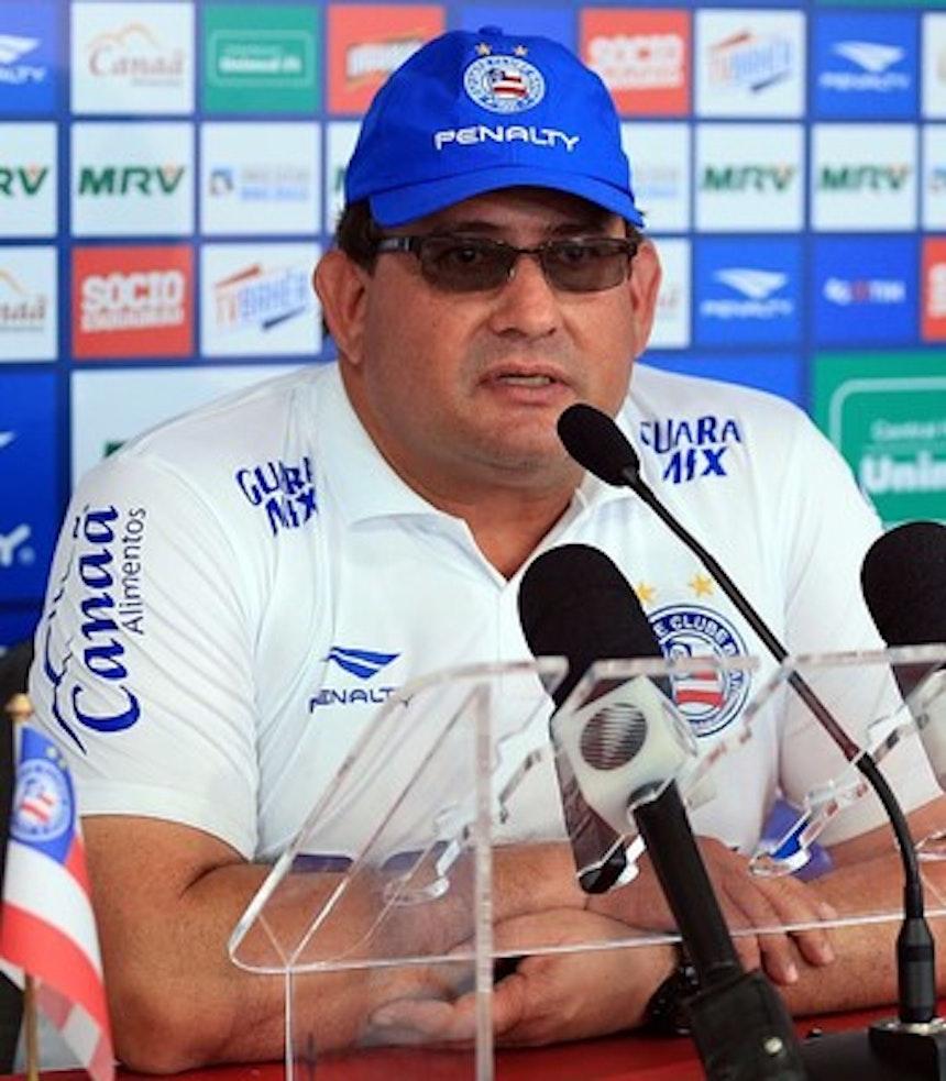 Guto Ferreira lamenta empate no Castelão (Foto: Felipe Oliveira / Divulgação / EC Bahia)