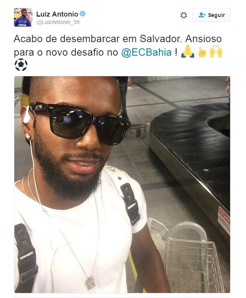 Volante deve assinar contrato com o Tricolor na tarde desta quarta-feira (Foto: Reprodução)