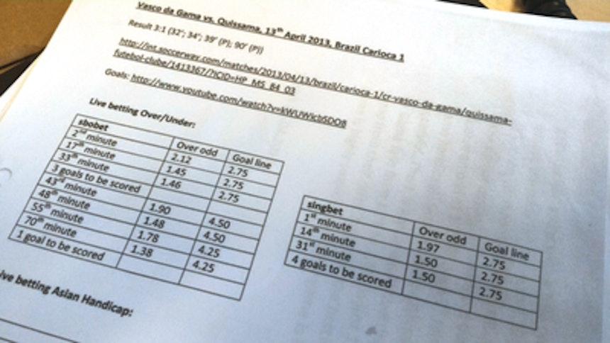 Relatório da Fifa indica manipulação (Foto: Divulgação)