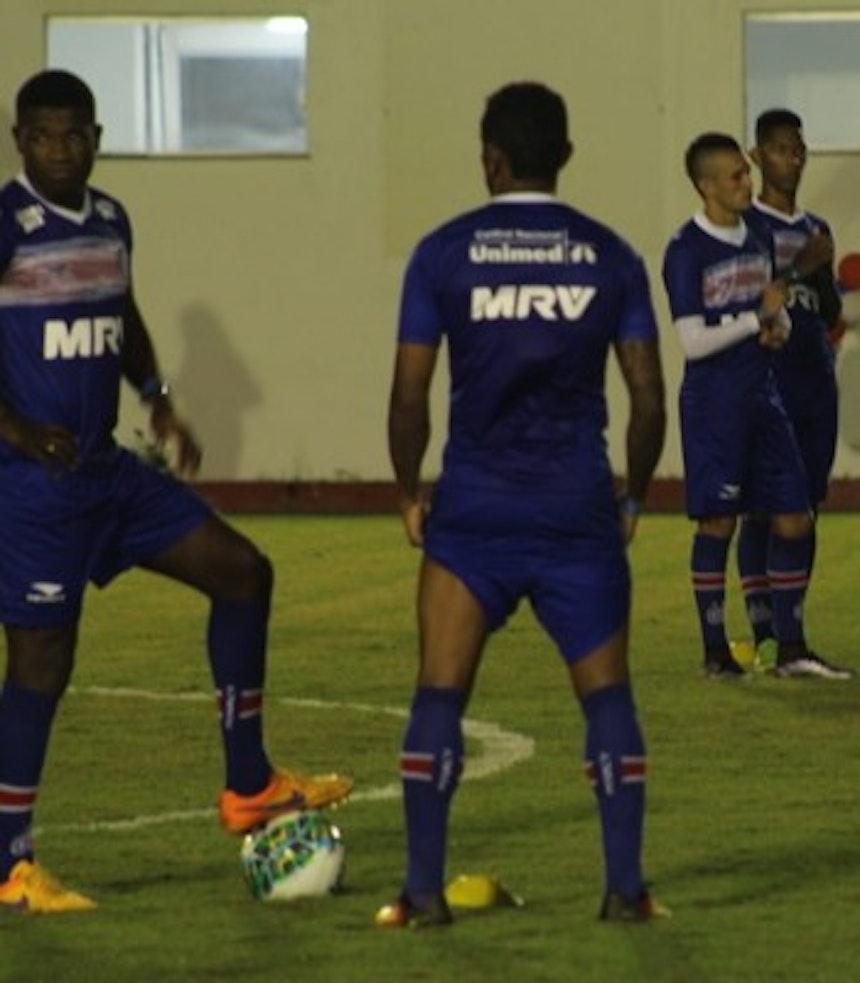 Feijão participa de treino em Porto Seguro (Foto: EC Bahia/Divulgação)