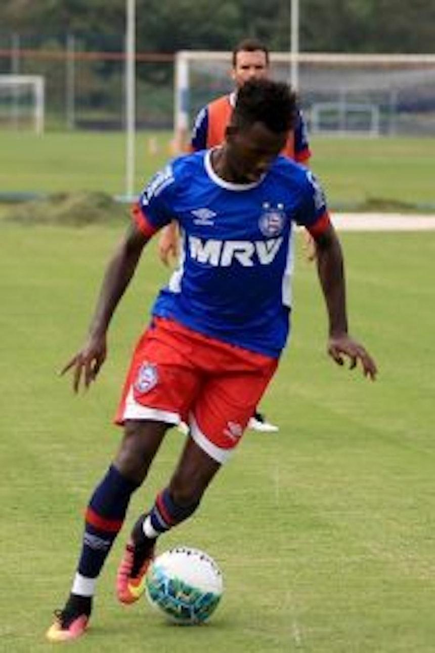 Allano foi defendido pelo treinador do Bahia (Foto: Felipe Oliveira / Divulgação / EC Bahia)