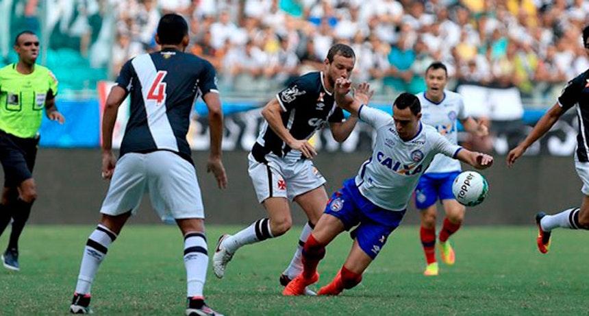 Bahia e Vasco se enfrentaram na Arena Fonte Nova