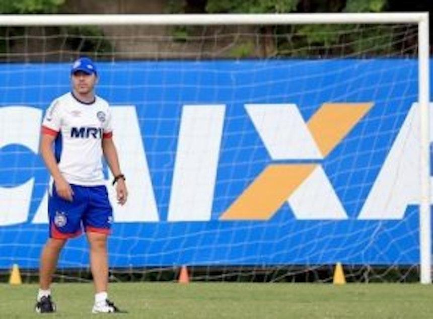 Alexandre Faganello irá comandar o Bahia na partida contra o Ceará (Foto: Felipe Oliveira / Divulgação / EC Bahia)