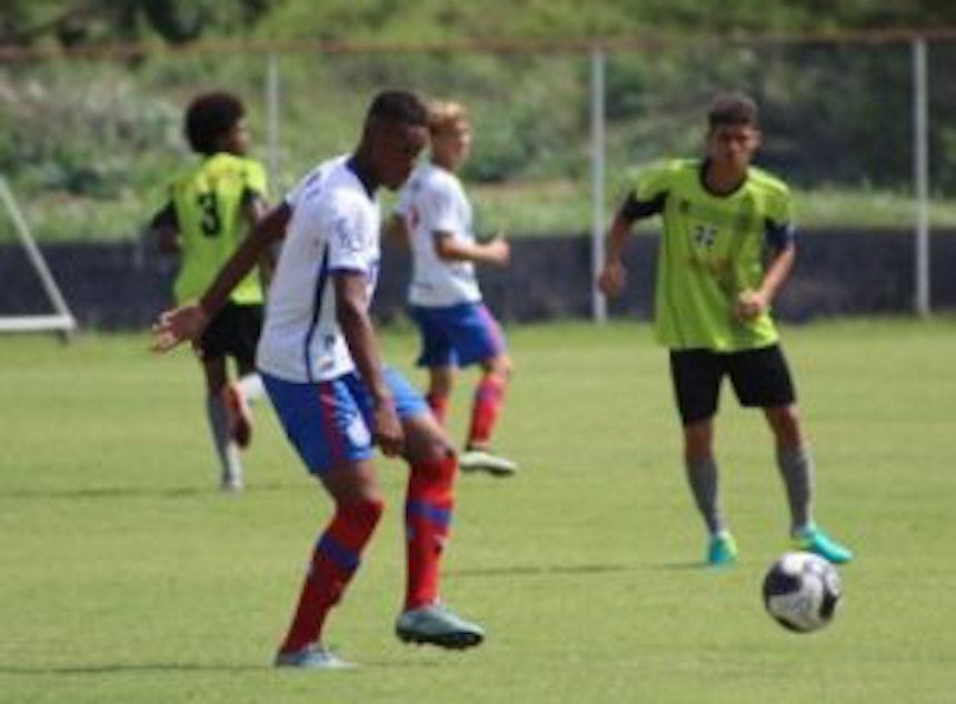 Times infantil e juvenil do Bahia venceram o Redenção no Campeonato Baiano ( Foto: Divulgação / EC Bahia)