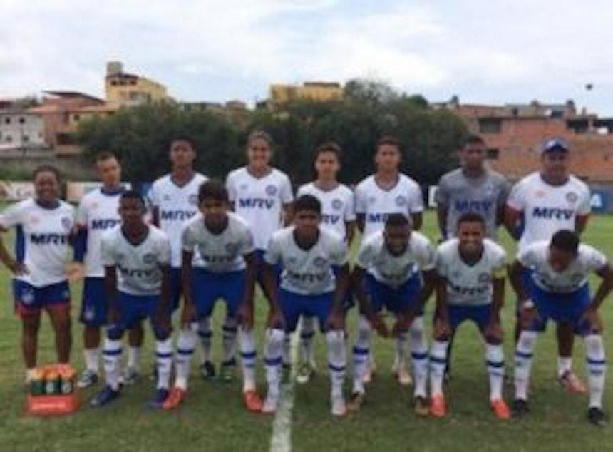 Equipe sub-17 da Bahia (Foto: Divulgação / EC Bahia)