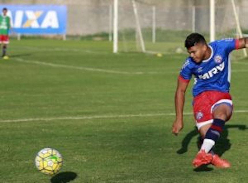 Sub-20 do Bahia treina no Fazendão (Foto: Felipe Oliveira / Divulgação / EC Bahia)