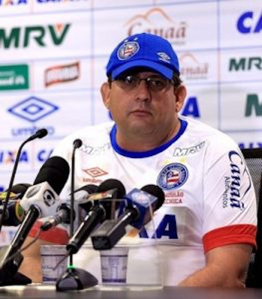 Guto Ferreira avalia partida contra o Brasil (Foto: Felipe Oliveira/EC Bahia/Divulgação)