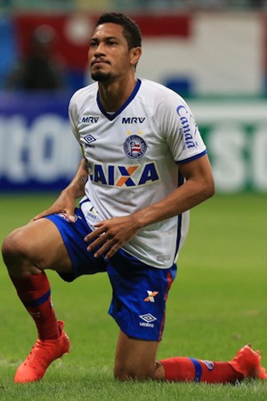 Hernane tem sido bastante criticado pela torcida (Foto: Felipe Oliveira/Divulgação/EC Bahia)