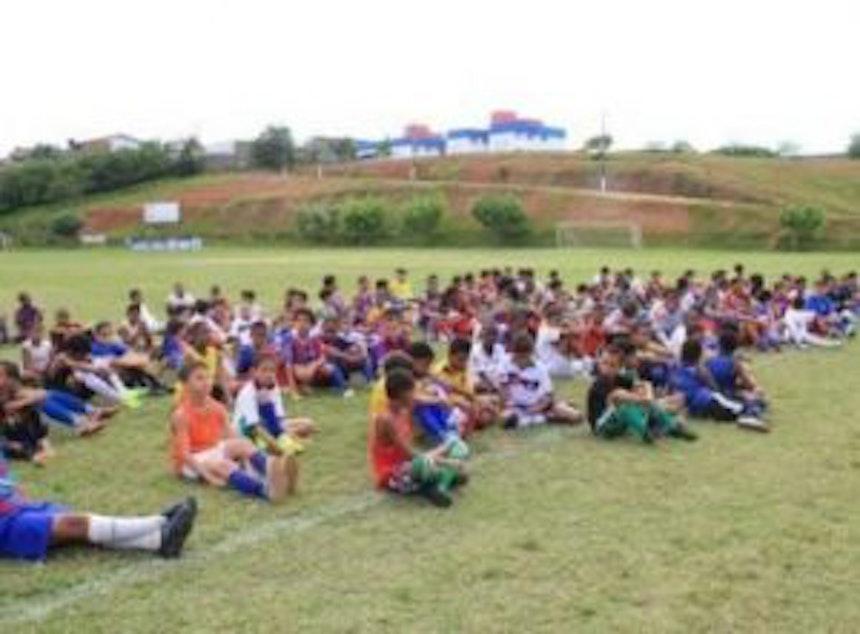 Bahia faz peneira procurando jovens para a sua divisão de base (Foto: Divulgação / EC Bahia)