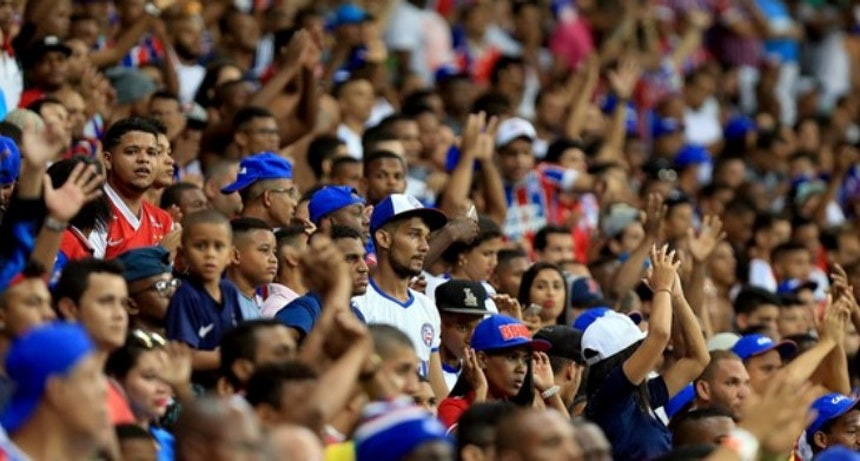 Torcida do Bahia pode adquirir ingressos a partir desta terça (Foto: Felipe Oliveira/Divulgação/EC Bahia)