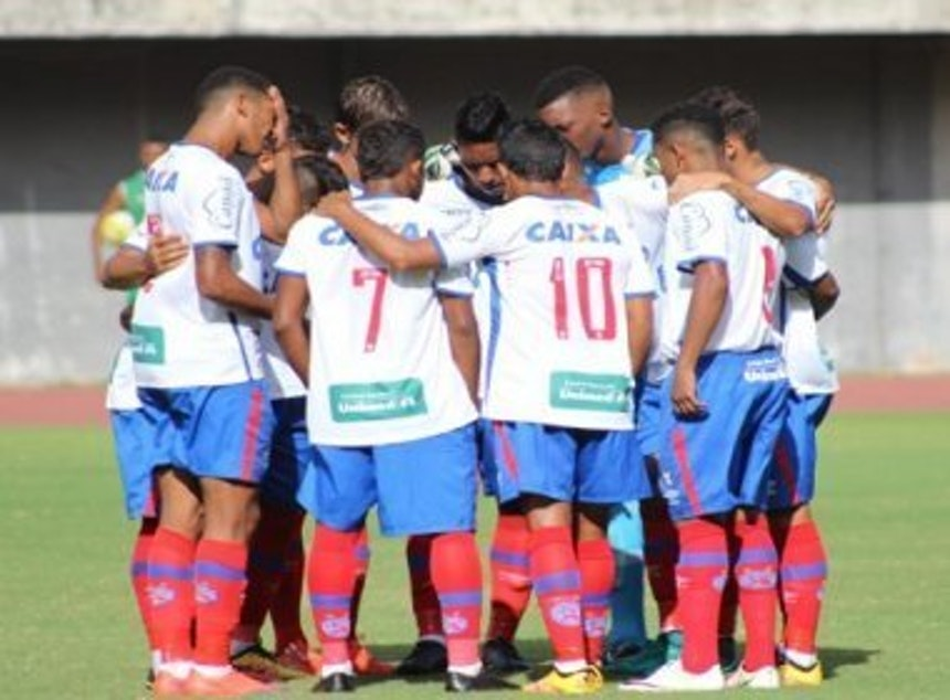 Time do Bahia deixa a Copa do Nordeste Sub-20 (Foto: Divulgação)