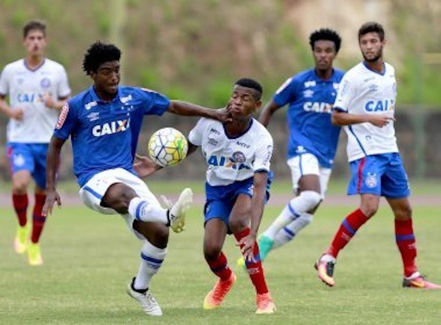 Esquadrãozinho bateu o Cruzeiro no jogo de ida da semifinal (Foto: Felipe Oliveira / Divulgação / EC Bahia)