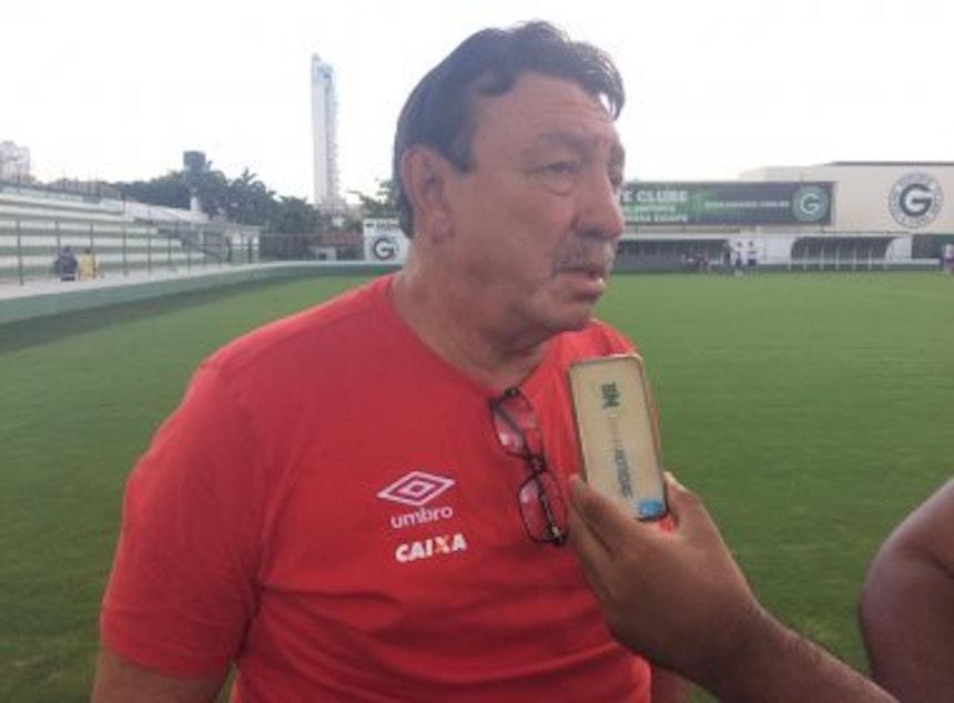 Beijoca, ídolo histórico do Bahia, está em Goiânia para acompanhar a partida decisiva contra o Atlético-GO (Foto: Ulisses Gama/Bahia Notícias)
