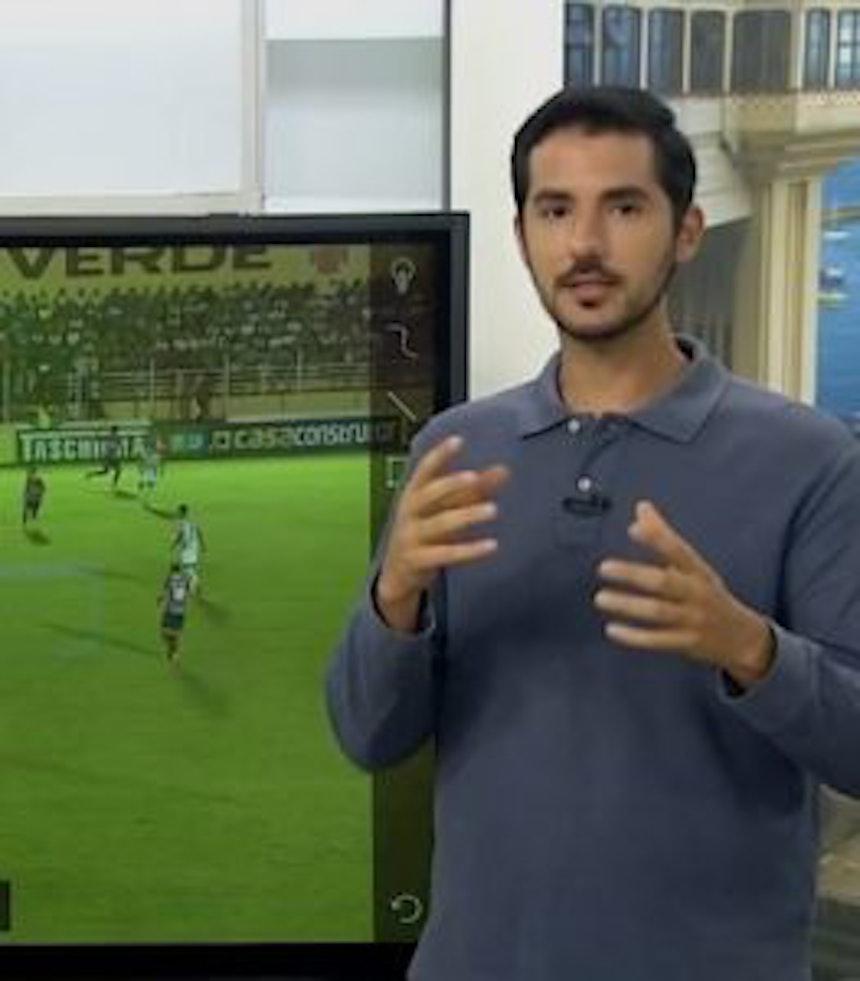 Gustavo Castellucci falou sobre o sofrimento tricolor no empate com o Luverdense (Foto: Reprodução)