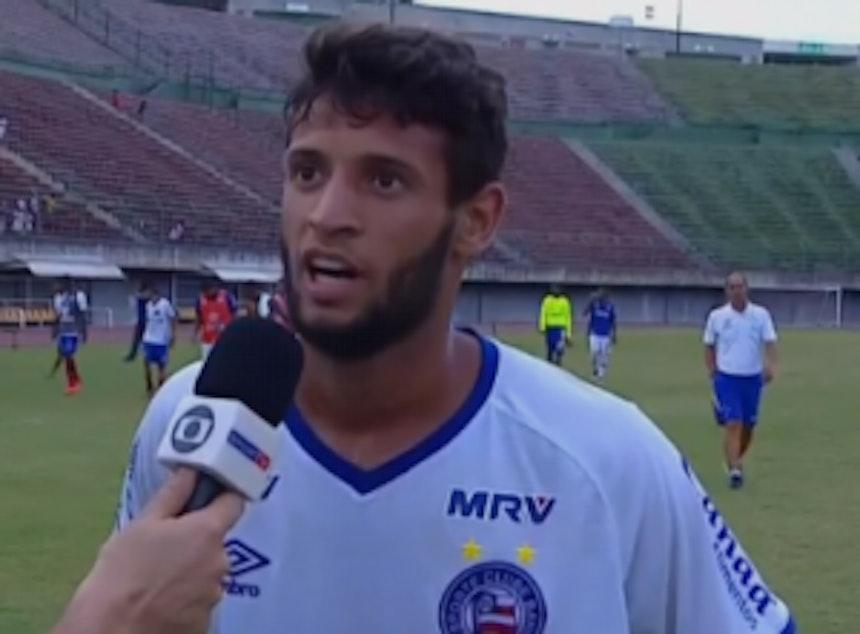 Juninho, lateral do Bahia Sub-20 (Foto: Reprodução / SporTV)