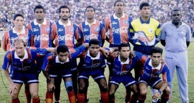 História Tricolor: Campeão Baiano de 1994
