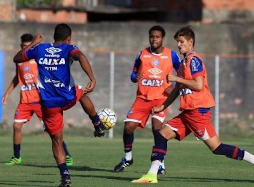 Sub-20 do Bahia já começou a preparação para a Copa São Paulo (Foto: Divulgação / EC Bahia)