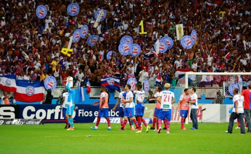 Torcida do Bahia na Fonte