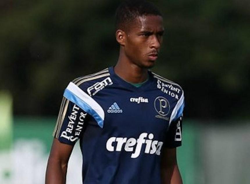 Matheus Sales, volante do Palmeiras (Foto: Divulgação)