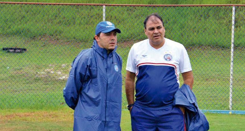 Dirigente gostava de acompanhar os treinamentos na beira do campo