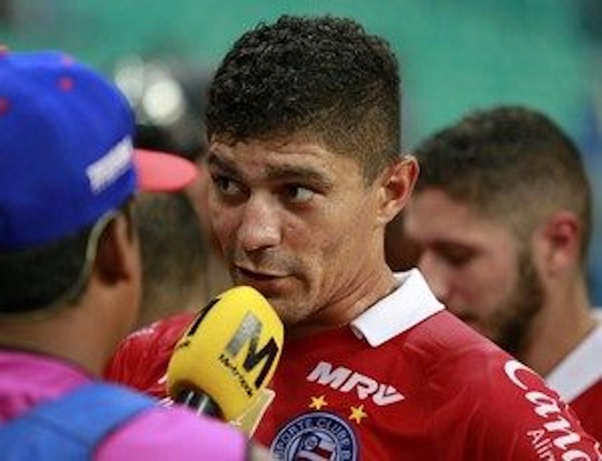 Edson diz que jogo contra o Fortaleza será perigoso (Foto: Felipe Oliveira/EC Bahia/Divulgação)