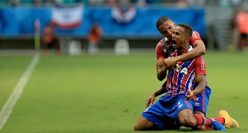 Eduardo é um dos pilares da defesa tricolor (Foto: Felipe Oliveira/Divulgação/EC Bahia)