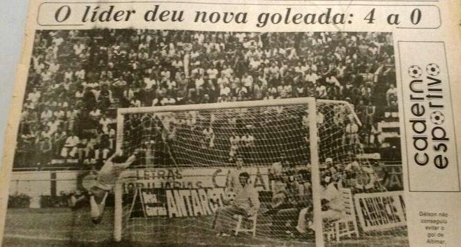 Em 1978, o Bahia venceu o Vitória e aplicou a maior goleada de Ba-Vi's no Brasileiro