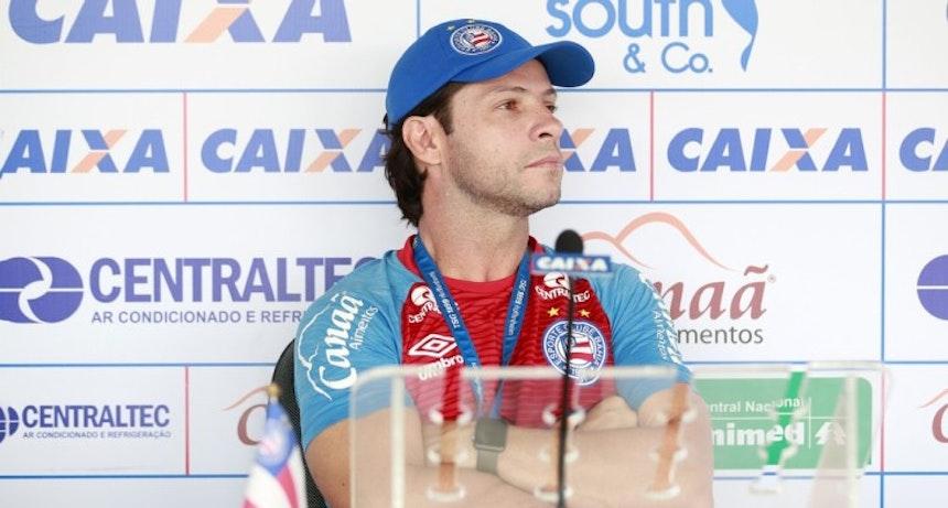Preto Casagrande chega ao terceiro jogo à frente do Bahia (Foto: Felipe Oliveira/Divulgação/EC Bahia)