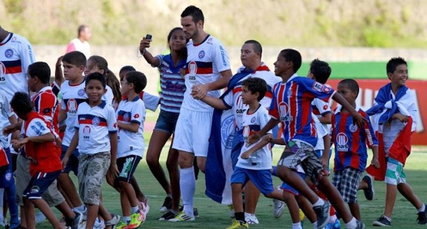 Lucas Fonseca chegou ao Bahia em 2012 (Foto: Felipe Oliveira/Divulgação/EC Bahia)