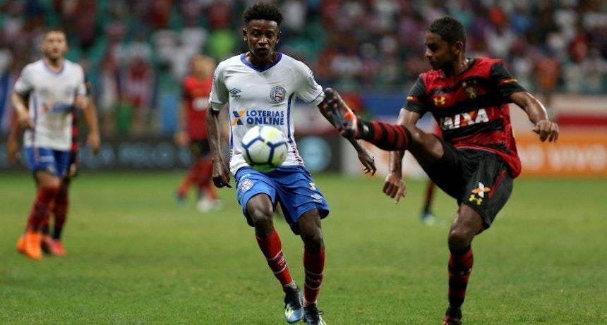 Ramires em jogo do Bahia contra o Sport (Foto: Felipe Oliveira/Divulgação/EC Bahia)