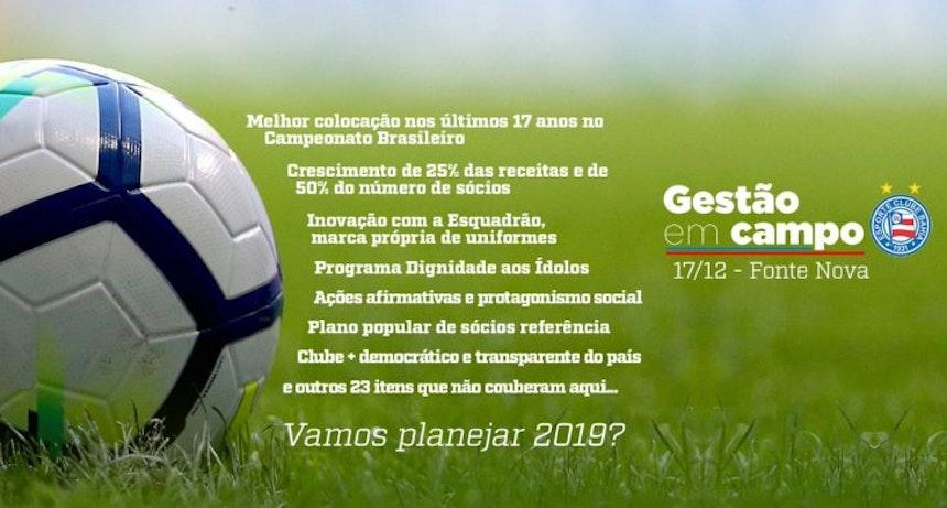 Bahia promove evento Gestão em Campo (Foto: Divulgação)