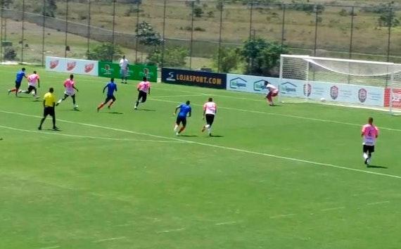 Time de Transição do Bahia continua trabalhando pesado e goleia em jogo-treino