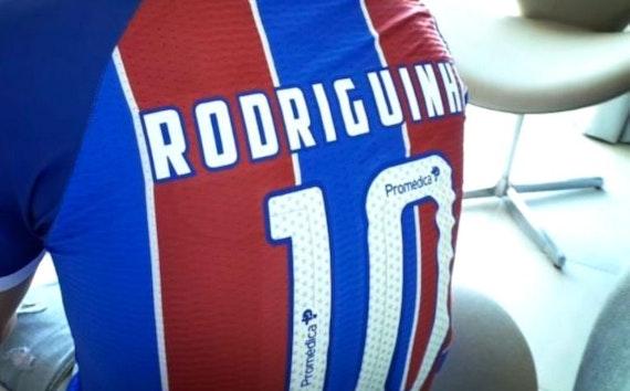 É Oficial: Rodriguinho assinou com o Bahia até Dezembro de 2021