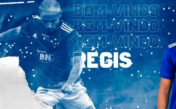 Cruzeiro torna oficial a contratação por empréstimo de Régis