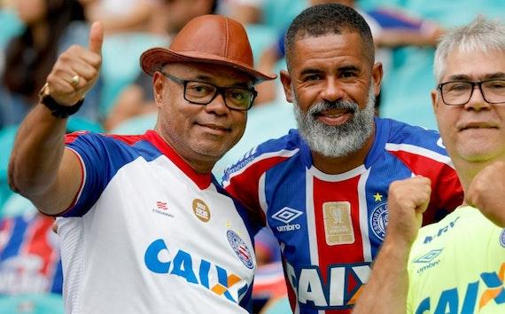 Como não sentir saudades do nosso Bahia?